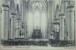 Bernissart Intérieur De L'Eglise - Bernissart