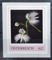 SPECIAL EDITION AUSTRIAN POST - F384 Japanische Vogelblume, Habenaria Radiata, Orchideen, Orchids, AT 2013 ** - Autriche