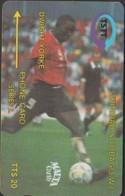 TRINIDAD Et TOBAGO 13CTTA TTS20 LOGO  MALTA CARD  BLACK  1995  FOOT 92M - Trinidad & Tobago