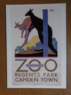 London / Zoo Underground, Regent's Park Of Camden Town / Kangaroos --> Unwritten - London