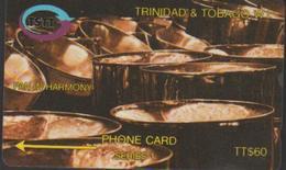 TRINIDAD Et TOBAGO 12CTTD TTS60 PAN IN HARMONY  1995 - Trinidad & Tobago