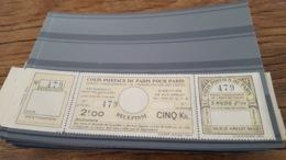 LOT424806 TIMBRE DE FRANCE COLIS POSTAUX DE PARIS NEUF** N°140 VALEUR 50 EUROS - Parcel Post