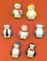 Serie Complète ? De 7 Feves Les Petits Pingouins - Geschiedenis
