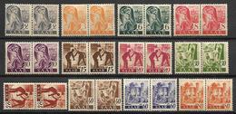 SARRE   -   1947 .  LOT De  PAIRES  ** - Sarre