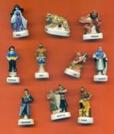 Serie Complète De 10 Feves Simbad Le Marin 2004 - Geschiedenis
