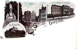 Giessen, Litho, Um 1900/05 - Giessen