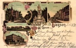 Giessen, Farb-Litho, 1897 - Giessen