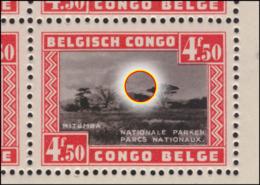 Congo BL 001-v* Parc National - Variété Ampoule MNH - Congo Belge
