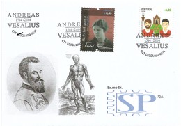 Andreas Vesalius Médico Saúde Bélgica Belgium Anatomia Médecin Anatomie Santé Florbela Escritor Ecrivain Médecine - Medicina