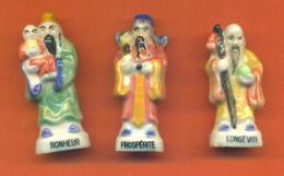 Serie Complète De 3 Feves La Sagesse Des Rois 1993 - Characters
