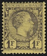 Monaco   .   Yvert    9   ( 2 Scans )   .     *      .      Neuf Avec  Charniere   .    /    .     Mint-hinged - Monaco