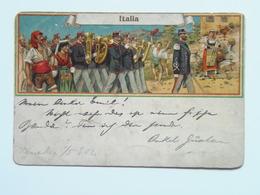 5292 Prima Guerra Pubblicitaria Militare 1902 Italia - Andere Städte