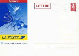 642  PAP  Prêt à Poster  Enveloppe  100g  Cartonnée Destination France  Marianne Briat - Entiers Postaux