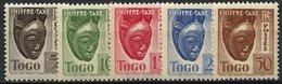 Togo, Taxe N° 22 à N° 31* Y Et T - Ungebraucht