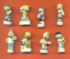Serie Complète De 8 Feves Les Perlinpinpin Et La Cuisine 1995 - Characters