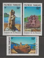 Polynésie Française, Superbe ** 386/387/388 - Nuovi