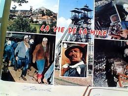FRANCE LA VIE DE LA MINE MULTIVUES STAMP TIMBRE SELO 0,25 MAISONS DES JEUNES 1965  GX5747 - Miniere