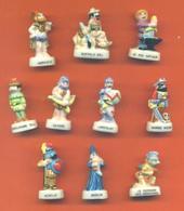 Serie Complète De 10 Feves Les Légendes De Notre Enfance - Geschiedenis
