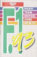 Autosprint 10 1993 Allegato Pocket:F1 '93. - Car Racing - F1