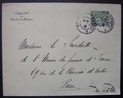 1904 Lettre Du Cabinet Du Garde Des Sceaux à La Présidente De L'Union Des Femmes De France - Marcophilie (Lettres)