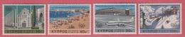 1967 ** (sans Charn., MNH, Postfrish)  Yv  290/3   Mi  298/01 SG 309/12 - Cyprus (Republic)