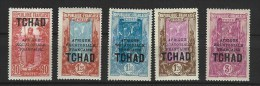 "Tchad YT 53 53A 54 "" Serie De 3 TP "" 1930-33 Neuf* - Tschad (1922-1936)"