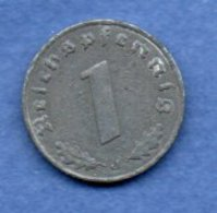 Allemagne -  1 Reichspfennig  1941 J-  Km #  97-    état  TB + -- - [ 4] 1933-1945 : Troisième Reich