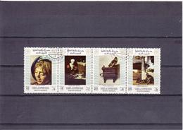 Yupper Yaffa Oblitéré  1972    Tableaux De Frans Hals, Nicolaes Maes Et Carel Fabritus - Yemen