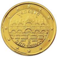 ITALIE 2017 - 2 EUROS COMMEMORATIVE - BASILIQUE ST MARC -  PLAQUE OR - Italie