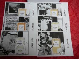 """CHANEL:"""" LES EXCLUSIFS""""  LOT 16 CARTES POSTALES ( écrit En NEERLANDAIS)  LIRE ATTENTIVEMENT !! ET VOIR!! - Miniatures Womens' Fragrances (in Box)"""