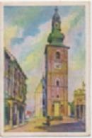 Zigarettenfabrik W. Lande Dresden: Deutschtum Im Ausland, Bild 81: Bettau, Stadtturm - Cigarette Cards