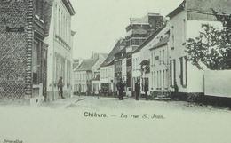 Chièvres La Rue St. Jean - Chièvres