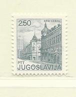 YOUGOSLAVIE  ( EU - 464 )   1981   N° YVERT ET TELLIER  N° 1763(B    N** - 1945-1992 Sozialistische Föderative Republik Jugoslawien