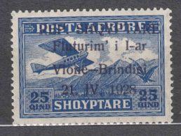 Albania 1928 Airmail Mi#164 Mint Never Hinged - Albania