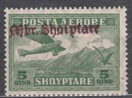 Albania 1929 Airmail Mi#210 Mint Never Hinged - Albania