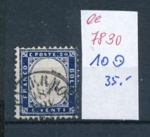 Italien Nr. 10    O ...   (ee7830  ) Siehe Scan - 1861-78 Vittorio Emanuele II