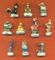 Serie Complète De 10 Feves Mat Peter Pan 2 - Disney