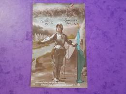 Cp Guerre 1914.18 De FRAIZE Jeanne D'Arc Du Caporal Peille 253è RI Soigné P Hélène Verdenal à ST DIE 88 - Guerre 1914-18