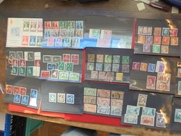 FRANCE-HOLLANDE-AUTRICHE-SUISSE. JOLIE SELECTION MAJORITES ANNEES 30-40s. - Stamps
