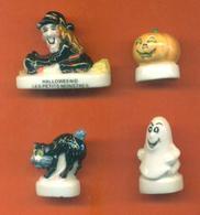 Serie Complète De 4 Feves Halloween - Characters