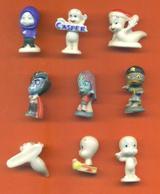 Serie Complète De 9 Feves Gasper à L'école De La Peur 2010 - Characters