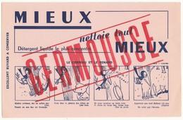"""Buvard """" Germousse """" - Produits Ménagers"""