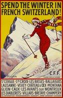 @@@ MAGNET - Ski, Les Avants Sur Montreux - Publicitaires