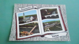 44CARTE DE VERTOUN° DE CASIER B4 15CARTE 150X105 - France