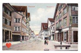 35365-ZE-SUISSE-Canton De Saint Gall-Rheineck--Haupstrasse------------animée - SG St. Gall