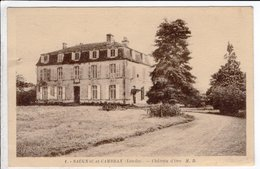 Cpa Carte Postale Ancienne - Saugnac Et Cambran Chateau D Oro - France
