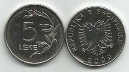 Albania 5 Leke 2000. UNC - Albanie