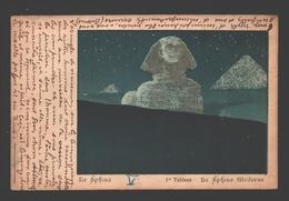 Théâtre D'ombres - Georges Fragerolle - Le Sphinx 1896 épopée Lyrique Seize Tabl. - 1e Tableau: Le Sphinx Moderne - 1902 - Teatro