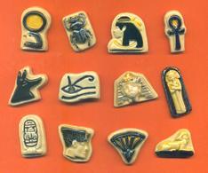 Serie Complète De 12 Feves Les Rois Pharaons - Egypte - Dautrey - Sports