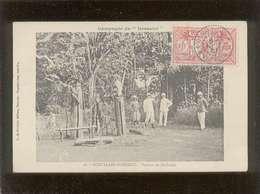 Nouvelles Hébrides Tabous De Mallicolo  édit. G. De Béchade N° 28  Timbre Stamp - Cartes Postales